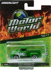Greenlight 96170B Motor World Series 17 1956 Ford F-100 with Flames 1:64 Scale