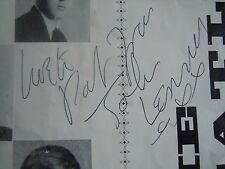 The Beatles John Lennon Brilliantly Autograph 1963 Program PRE U.S.1963 Signed