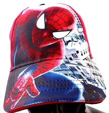 Marvel Comics Spider-Man Red Youth Big Boy's Snapback Hat Free Shipping NWT
