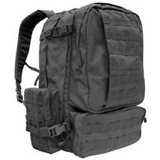 Condor 3 Day Assault Pack Tactical MOLLE Backpack Black 125-002
