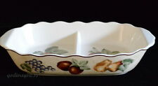 Noble Excellence Napa Valley * DIVIDED SERVER / LOW BOWL * Fruit Design * Unused