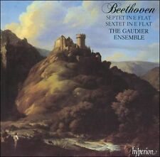 Beethoven: Septet in E flat; Sextet in E flat - Gaudier (CD, BMG, Hyperion, W)
