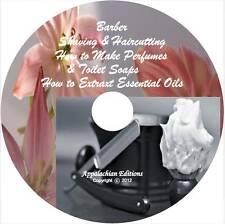Barber,Edwardian Shave,Haircut & How To Make Perfume,Essence Oils,Toilet Soap CD