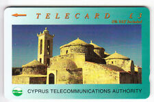 EUROPE  TELECARTE / PHONECARD .. ILE CHYPRE 3£ GPT 24CYPA N/G+B  EGLISE CHURCH