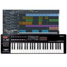 Roland A-500PRO 49-Key USB MIDI Keyboard Controller + Ableton Live Lite Software
