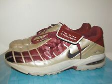 NIKE SHOX MAX AIR ZOOM 365 SOCCER CLEATS SHOES INDOOR TRAINERS US 8 UK 7