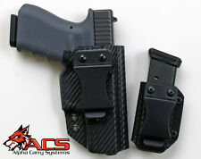 Smith & Wesson SD9VE/SD40V IWB Appendix Carry Kydex Gun Holster & Magazine Combo