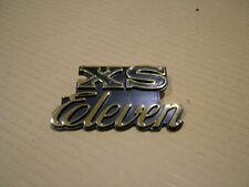 YAMAHA XS1100 E,F, '78-'79,  SIDE COVER BADGE. METAL REPRODUCTION