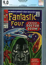 Fantastic Four #57 (Marvel 1966) CGC Certified 9.0 White Pages