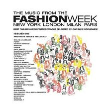 CD THE MUSIC FROM THE FASHION WEEK NEW YORK LONDON MILAN PARIS 8032754472156