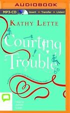 Courting Trouble by Kathy Lette (2014, MP3 CD, Unabridged) Audio Book Audiobook