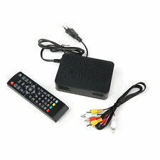 High Definition Digital Video Broadcasting Terrestrial Receiver DVB-T2 Black SY