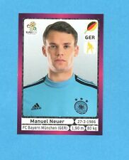 PANINI-EURO 2012-Figurina n.229- NEUER - GERMANIA -NEW-DARK BOARD
