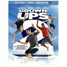 Grown Ups 2 dvd only inside blu ray case