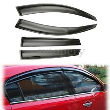 4Pcs Window Visor Cover Deflector Sun Rain Guards Set For 2013-16 Mazda CX-5 CX5