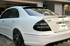 PAINTED BENZ W211 E CLASS L TYPE ROOF & A TRUNK SPOILER E350 E55AMG 02-05