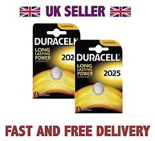*Cheapest* 2 X Duracell CR2025 3V Lithium Button Battery Coin Cell DL2025 FAST