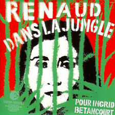 CD SINGLE RENAUD Dans la jungle 4-track CARD SLEEVE Pochette rouge et verte NNS