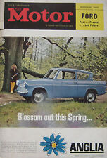 Motor magazine 27/3/1963 featuring Ford Zephyr road test, Lotus 29, Ford