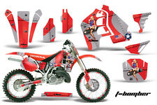 AMR Racing Honda CR500 Graphic Kit # Plates Decal Sticker Part CR 500 89-01 TBR