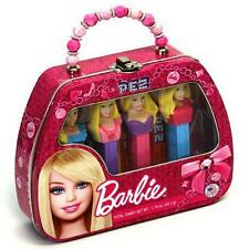 BARBI ~ PURSE ~ PEZ COLLECTION ~ COMES IN COLLECTOR'S TIN ~ 4 PEZ DISPENSERS NEW