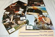 L'ILE AU TRESOR !  jeu 12 photos cinema lobby cards fantastique 1972