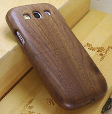 Real Genuine Wood Bamboo Wooden Cover Case for Samsung GT I9300 Galaxy S3 III
