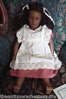 Annette Himstedt Fatou doll, 1986 SIGNED from the Barefoot Children series