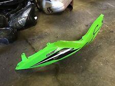 Kawasaki ZX6R Ninja 636 13 14 15 16 Right tail fairing panel OEM green rear