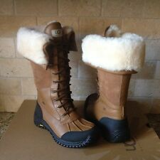 UGG Adirondack Tall Otter Leather Sheepskin Waterproof eVent Boots US 6 Womens