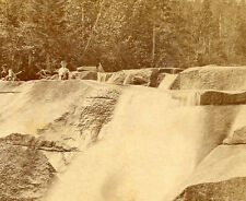J. W. & J. S. MOULTON SALEM MASS STEREOVIEW DIANAS BATH NORTH CONWAY NH TOURISTS