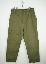 Vintage 1940's US ARMY AIR FORCE TYPE A-9 EXTREME COLD PANTS size 34 X 28