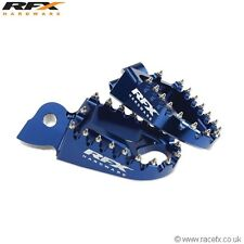 New Trick Blue Wide Foot Pegs YZ 125/250 YZF 250/426/450 99-13 Footrests
