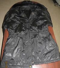 Leather Jacket with Hood for Woman Size Large