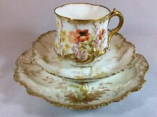 Antico LIMOGES FRANCIA c1891-1896 M. REDON MOLTO FINE BONE CHINA