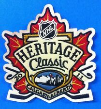 NHL Logo /crest Patches Heritage Classic Calgary Alberta 2011 Sew On /Glue On