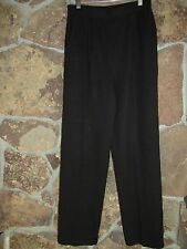 St. John Collection Ivory Santana Knit Pleated Front Pants Women's 4  T5