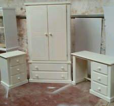 HANDMADE AYLESBURY IVORY (CREAM) 3 PIECE BEDROOM SET NO FLAT-PACK!!!