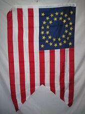 35 STAR CAVALRY GUIDON FLAG 3 X 5 3X5 FEET POLYESTER NEW
