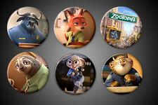 Zootopia Magnet Judy Hopps Nick Wilde Bogo Clawhauser Disney Movie Fridge Locker