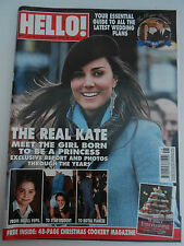 HELLO magazine # 1152  6/12/10 Kate Middleton Pics Growing Up, Oscar De La Renta