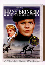Hans Brinker or The Silver Skates Holland Ice Skating Race Disney Movie on DVD