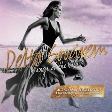 DELTA GOODREM WINGS OF THE WILD Tour Edition CD & DVD NEW released 28th October
