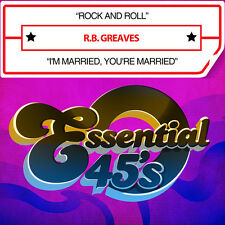 Rock & Roll / I'm Married You'Re Married - R.B. Grea (2014, CD Maxi Single NEUF)