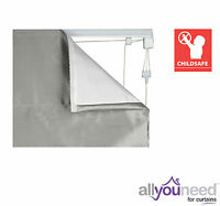 Ready Corded Roman Blind Kits - Cord Break Away, Child Safe!