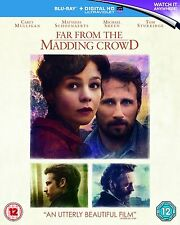 FAR FROM THE MADDING CROWD (Via dalla Pazza Folla) BLURAY in Inglese NEW .cp