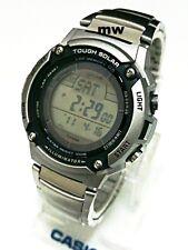 Casio Tough Solar 5 Alarms World Time W-S200HD-1A Men's Watch 120 Lap Memory New