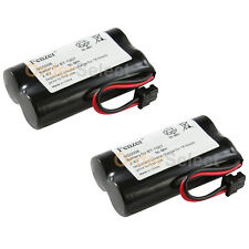 2x Cordless Home Phone Battery Rechargeable Pack 2.4V for Uniden BT-1015 BT1015