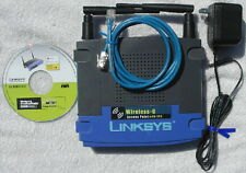 Linksys WAP54G w/ 7dbi High Gain antenna Access Point Repeater Bridge Internet