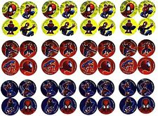 SPIDERMAN 48 Mini COOL Stickers! Spidey Marvel Comics